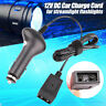 12V Car Charger Adapter for Streamlight Flashlight Charge Cord DC Rechargeables