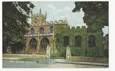 Huntingdonshire - Huntingdon, All Saints Church - 1920's Postcard