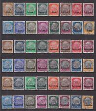 Dt. Besetzung 1940 Elsass, Lothringen und Luxemburg je Mi.Nr. 1-16 gestempelt