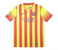 Barcelona 2013-14 Authentic Away Shirt (Excellent) XL Boys Soccer Jersey