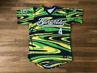 Savannah Bananas Authentic Team Issued Tye Die Jersey MILB