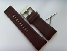 Diesel original LW pulsera de cuero dz1179 uhrband marrón watch Strap Brown