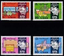 UPU 100 Jaar - Libanon postfris 1974 MNH 1206-1209 (upu088)