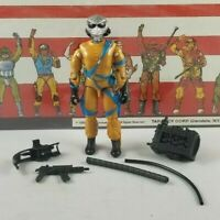 Original 1989 GI JOE FRAG VIPER V1 UNBROKEN figure not Complete Cobra