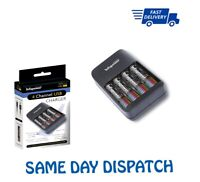 4 Slot Intelligent Battery Charger USB For AA AAA Rechargeable Batteries Utility