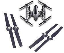 2 Pairs Propeller Rotor Blades CW & CCW for Yuneec Q500 Q500+ 4K Typhoon G Black