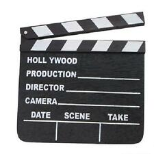 2 HOLLYWOOD MOVIE CLAPBOARDS CLAPPER DIRECTOR MOVIE TV SIGN #ST28 Free Shipping