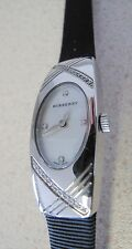 Women's Watch Burberry BU 6028 diamonds ribbon leather band sample