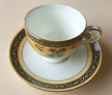 Wedgwood India Leigh Tea 175ml Cup/Saucers set of 2. 22.5cm Round. Never Used.