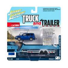 Johnny Lightning Bt008 Chevrolet HHR with Trailer Blue - Truck & Trailer New !°