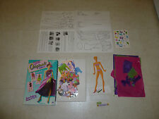 Vintage 1991 Golden Fashion Model Originals Designer Set Doll Kit Arts & Crafts