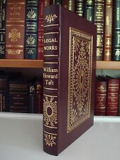 WORKS OF WILLIAM HOWARD TAFT Gryphon Legal Classics Leather