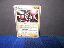 Pokemon Medicham EX Trading Card 95/106  Ultra-Rare Ex Emerald FREE UK Postage