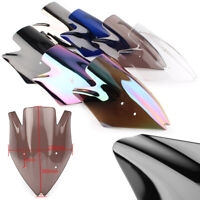 ABS Plastic Motorcycle Front Windshield Screen For Kawasaki Z1000 2007-2009 2008