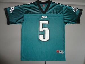 Nike Philadelphia Eagles #5 Donovan McNabb NFL Screen Football Jersey Youth M