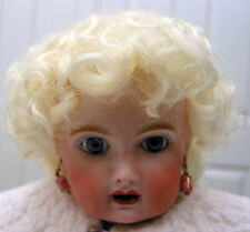 BABY LAUREN Mohair WIG Honey Blond size 11-12 short curls for DOLL