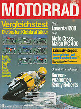 Motorrad 14 78 Z 1000 GG Kreidler RS Laverda 1200 Maico MC400 RD400 XS750E 1978