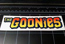 The Goonies 1985 movie logo style vinyl decal / sticker 1980's pirate treasure