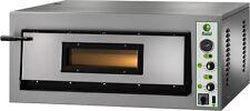 FORNO ELETTRICO PIZZA 1 CAMERA CM 108X108 TF400 V Professionale 13200W PIROMETRO