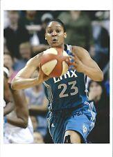Maya Moore Signed Autographed 8x10 photo Minnesotta Lynx Uconn