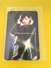 SNSD Girls' Generation Taeyeon Seoul Concert 2011 Official Photocard