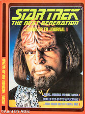 Star Trek The Next Generation Make-Up Book By Michael Westmore & Joe Nazzaro