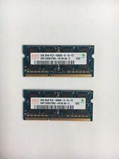 Hynix RAM SO-DIMM DDR3 4GB 2x2GB 10600S 1333Mhz Speicher Notebook iMac Macbook