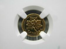 "2012 Canada Gold 1/25th oz ""Farewell to the Penny"" G1C NGC PF70 ECC&C, Inc."