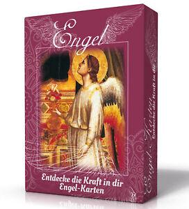 Engel-Karten - Entdecke die Kraft in dir: Karten mit Booklet Pia Schneider