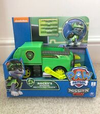 Paw Patrol Mission Paw - Rocky's Mission Recycling Truck - Brand New