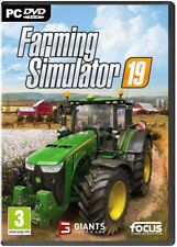 FARMING SIMULATOR 19 PC VIDEOGIOCO ITALIANO DVD NUOVO GIOCO SIGILLATO MULTLINGUA