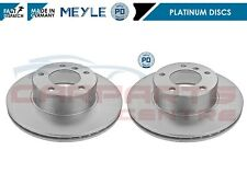 FOR BMW 5 SERIES E39 1995-2004 FRONT MEYLE PLATINUM BRAKE DISCS DISC 296mm