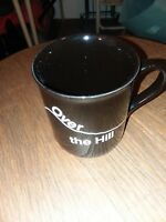Over The Hill Coffee Mug Black Hallmark 1985