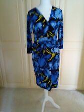 Debenhams Collection Blue Peplum dress 14