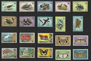 G642 Kiribati / A Small Collection Early & Modern Umm  Lhm & Used