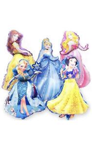 Disney Princess Foil Balloons Birthday Party Supplies Elsa & More!