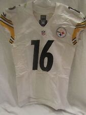Lance Moore Pittsburgh Steelers Game Used Road Jersey (10/12/14) - PSA Cert