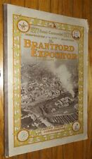 1877 SEMI-CENTENNIAL 1927 INCORPORATION BRANTFORD EXPOSITOR ANNIVERSARY NUMBER