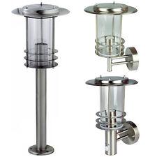 Grafner® Außenleuchte Wandlampe Standleuchte Wegleuchte Edelstahl Bewegung LED