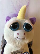 Jazwares Feisty Pets Glenda Glitterpoop Fur-ocious Animal White Purple