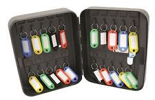 Hilka Combination Lock Key Storage Box Cabinet 20 Hooks Wall Mounted Safe