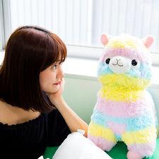 Alpacasso Arpakasso Amuse Rainbow Striped Llama Alpaca Stuffed Plush Doll 20''