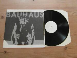 BAUHAUS-RARE WHITE LABEL LIVE ALBUM-VG+ VG 1980's