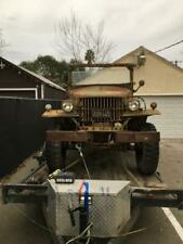 1941 Dodge Power Wagon Wc2 Wc4 M37 weapons carrier military 1/2 ton Rare! W300