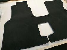 %SALE% Auto Fußmatte passend VW T4 Multivan Velours Matte 1-tlg Schwarz Blau