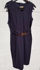 womens navy XXL with metal embellishments. slightly fitted. sleeveless