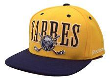 Buffalo Sabres Reebok NF94Z NHL Cross Stick Logo Snapback Hockey Cap Hat