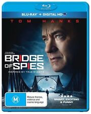 Bridge of Spies Blu Ray New, Region B, Tom Hanks
