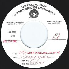 OSMOND BROTHERS It's Like Falling In Love ((**NM DJ 45 TEST PRESS**)) from 1982