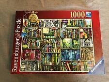 Ravensburger The Bizarre Bookshop Jigsaw Puzzle 1000 Pieces Complete